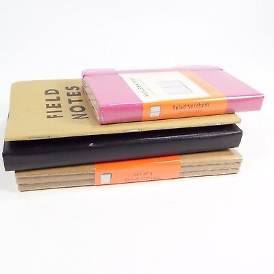 Lot Of Moleskine And Field Notes Journals