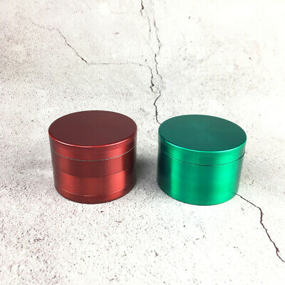 63mm Herb Grinder 3 Layers Spice Crusher for Tobacco Smoke Accessory
