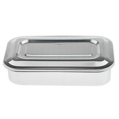 3X(Stainless Steel Container Organizer Box Instrument Tray To Storage Box G2M9)