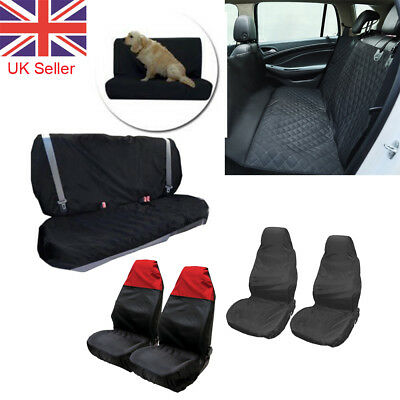 Car Rear Back Front Seat Cover Pet Dog Cat Protector Universal Waterproof Fit