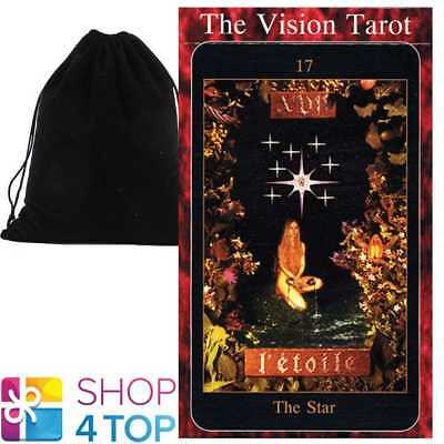 The Vision Tarot Deck Cards Tim Thomson Esoteric Us Games Systems Velvet Bag New