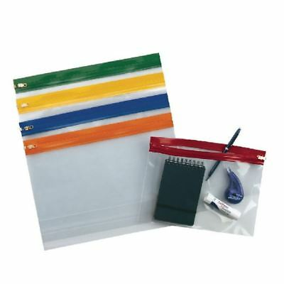 Snopake A4 Plus Plus Assorted Zippa Bags (Pack of 25) 12821 [SK12821]