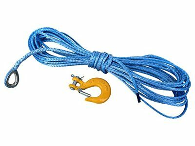 Synthetic Rope 5mm 15M for Winch ATV Quad Dyneema SK78Plastic 4x4Offroad wi
