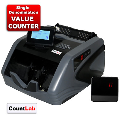 NC20i X Note Counter Automatic Fast Banknote Money Counter + FREE DUST COVER