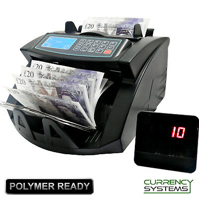 BNC250X Bank Note Counter Automatic Fast Banknote Money Counting Machine