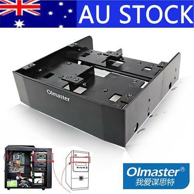"""Hard Drive Conversion Rack Chassis Optical Drive 5.25"""" To 3.5"""" Floppy Bracket"""