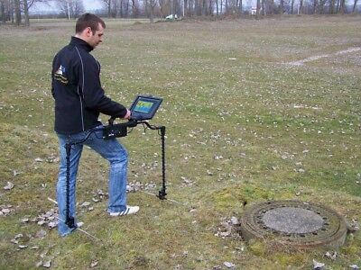 Gepard GPR - Ground Penetrating Radar with Android Tablet PC