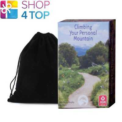 Climbing Your Personal Mountain Inspirational Cards Deck Agm With Velvet Bag New