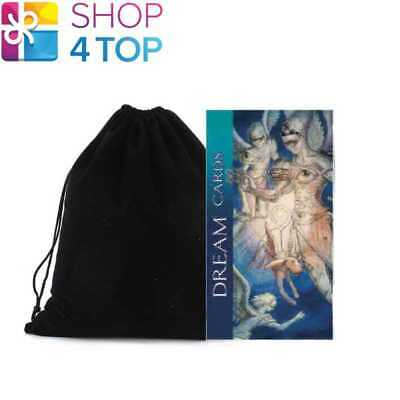 Dream Oracle Cards Deck Esoteric Telling Lo Scarabeo With Velvet Bag New
