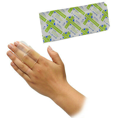 CMS Medical First Aid Hydrogel Burns Scald Relief Pad for Digits Fingers 2.5x50c