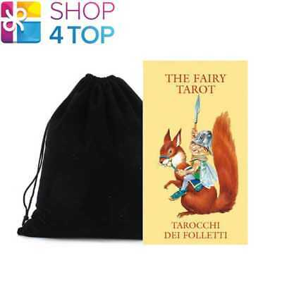 The Fairy Mini Tarot Cards Deck Esoteric Lo Scarabeo With Velvet Bag New
