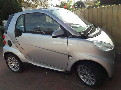 Smart Fortwo Passion 84 Auto 1.0 Petrol 2008 Coupe 31k Miles - NO RESERVE PRICE!