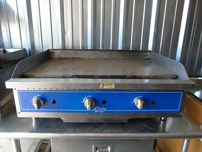 Globe GG36G 36 in Natural Gas countertop flattop flat top grill griddle
