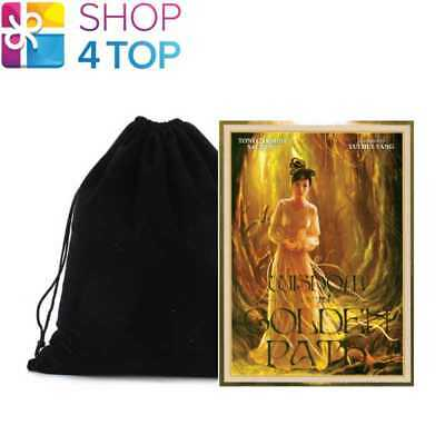 Wisdom Of The Golden Path Oracle Deck Cards Blue Angel With Velvet Bag New