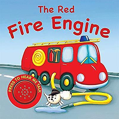 Sound Book: The Red Fire Engine (Vehicle Sounds), Igloo Books Ltd, Used; Good Bo