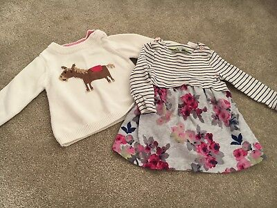 joules girls 6-9 months bundle
