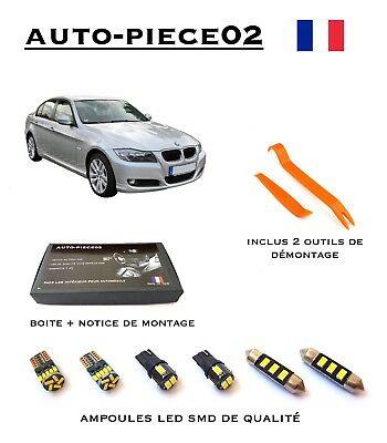 Pack FULL LED intérieur pour BMW Série 3 E90 ( Version light )