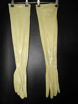 sterile Latex Handschuhe,Gloves,BioClean Maxima,Latex,600 mm,extra lang,M-7,5