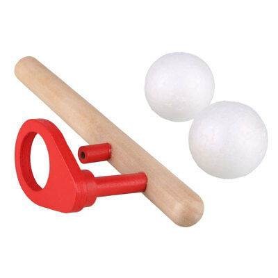 Funny Wooden Blowing Folating Ball Game Flute Children's Educational Toy EDA5