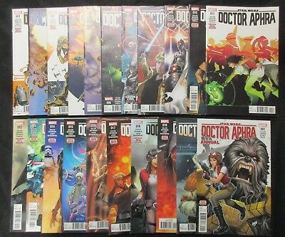 Doctor Aphra 1 - 20 Plus Ann 1 * Complete 1St Print Run * 21 Issue Lot