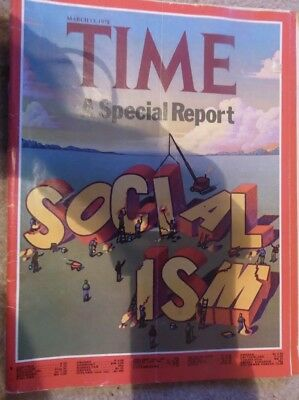 Rare 1978 TIME Magazine SPECIAL REPORT: SOCIALISM, Coal Miners, Zavon , Mar 13