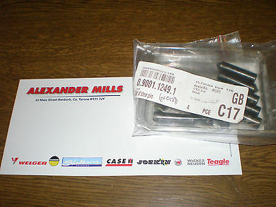 Lely Power Harrow Shear Pins 10MM x Ten 10 pack 0.9001.1249.1 Farm Agri