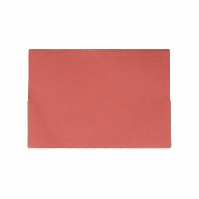 Guildhall Red Double Pocket Legal Wallet Foolscap (Pack of 25) 214-RED [GH10075]