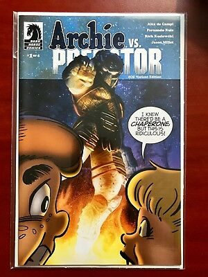 Dark Horse Comics Archie Vs. Predator #1 4Cg Variant ~ Nm/mt (9.8)? ~ Sealed!