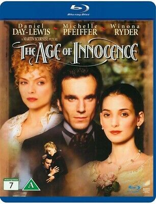 The Age of Innocence (1993) Blu-Ray Import BRAND NEW Free Ship (USA Compatible)