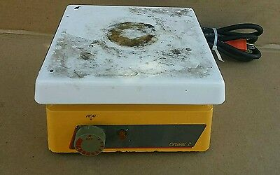 "Thermolyne Cimarec 2 Hot Plate 7x7"" Model HP46825 Tested"