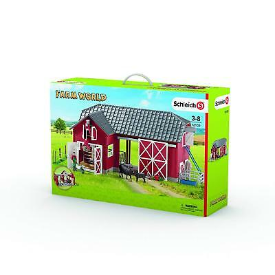 The new big farm Schleich barn animals & accessories action figures & statues