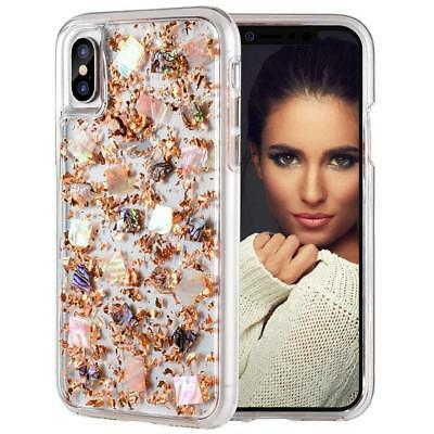 2 in 1 iPhone XR 8 7 Glitter Case Luxury Sparkle Bling Slim Protective TPU Cover