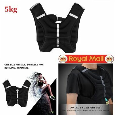 Weighted Vest 5kg Weight Loss Jacket For Running Training Workout Crossfit Sport