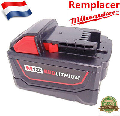 Milwaukee Batterie M18B9 18V 9.0Ah 48-11-1840 1828 1815 1822 1811 XC Lithium-Ion