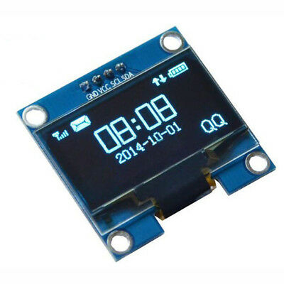 1.3 inch Blue OLED LCD 4Pin Display Module IIC I2C 128x64 3-5V Interface fo O7F2