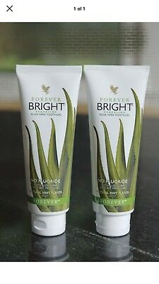 New Forever Living - Bright Aloe Vera Toothgel TWINPACK