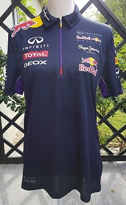 Red Bull Racing Pepe Jeans Formel 1 Polo Shirt Gr. S *Top* Unisex