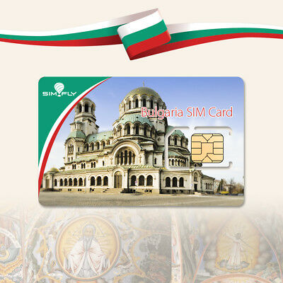 SIM Card Bulgaria Prepaid Data SIM Card with 5 GB of Data for 30 Days