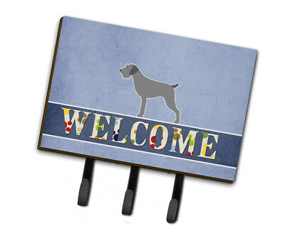German Wirehaired Pointer Welcome Leash or Key Holder