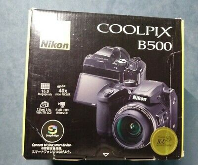 Nikon COOLPIX B500 16.0MP Digital Camera - Black