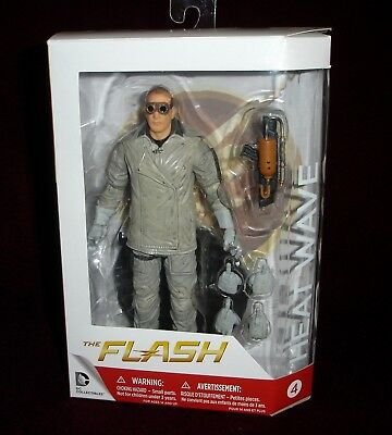 Dc Collectibles Cw Tv Series The Flash Heat Wave Action Figure + Bonus Stand!