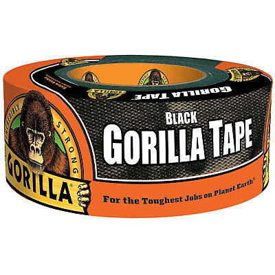 "GORILLA - Duct Tape Black - 1.88"" x 12 yd."