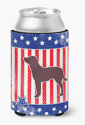AUSA Patriotic merican Water Spaniel Can or Bottle Hugger