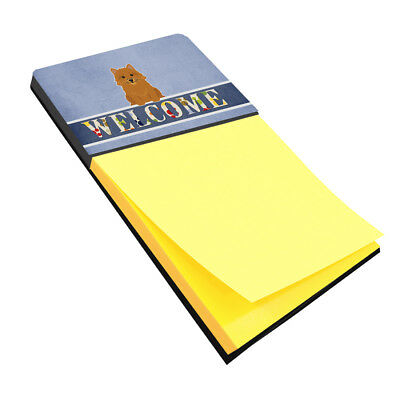 Carolines Treasures  BB5601SN Norwich Terrier Welcome Sticky Note Holder