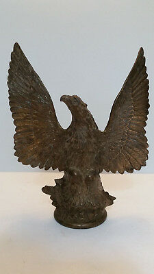 Vintage Brass Eagle with Wings Extended