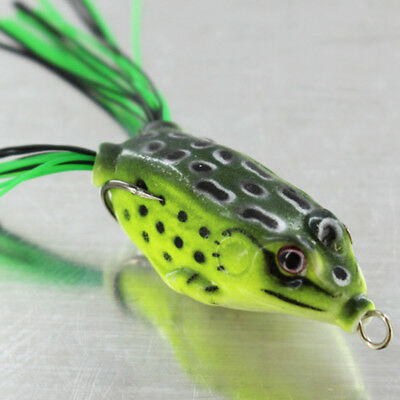 Frog Lure Soft Lures Artificial Fishing Bait Topwater Wobbler Pike Snakehead
