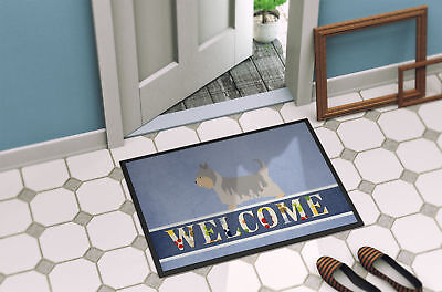 Australian Silky Terrier Welcome Indoor or Outdoor Mat 24x36