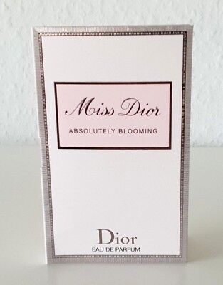 ❤️ Dior - Miss Dior Absolutely Blooming ❤️ Parfümprobe for women ❤️ Probe