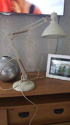 1001 lamps grey anglepoise lamp vintage industrial 1960's