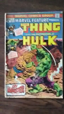 marvel feature presents the thing and the incredible hulk #11